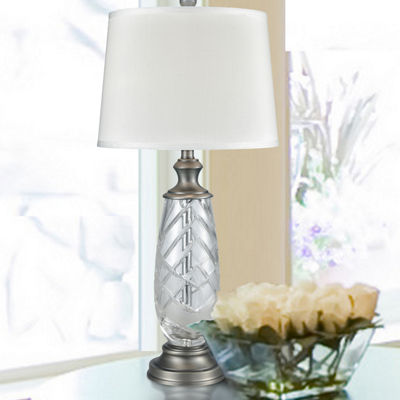 Dale Tiffany Garner Lead Handcut Crystal Table Lamp