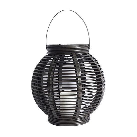 Outdoor Oasis Large Wicker Outdoor Lantern