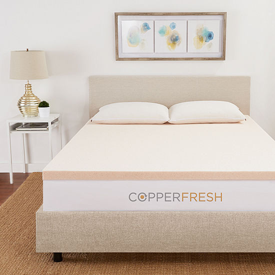 "Copperfresh 3"" Gel Memory Foam Mattress Topper"