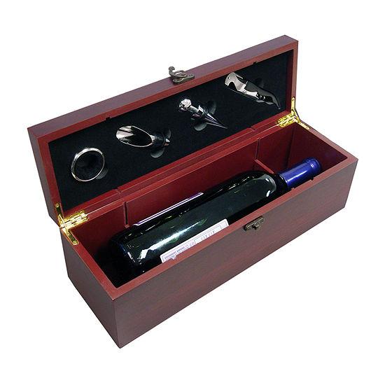 Vinotemp Bottle Gift Set 4-pc. Opener + Preserver