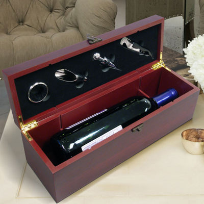 Vinotemp Bottle Gift Set 4-pc. Opener + Preserver