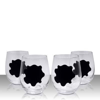 Vinotemp 4-pc. Wine Glass
