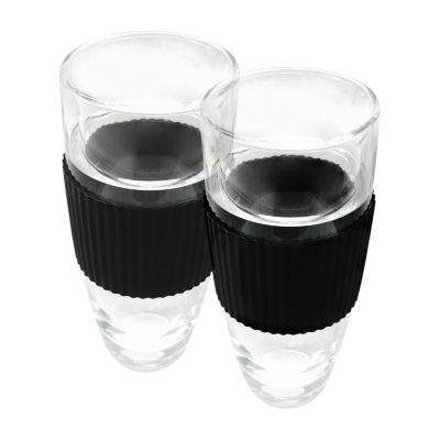 Vinotemp Glass Insulated Tumbler