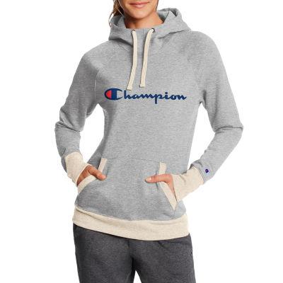 Champion Womens Hooded Neck Long Sleeve Sweatshirt