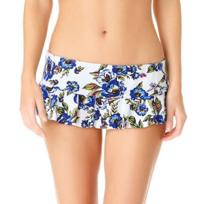 a.n.a Floral Swim Skirt