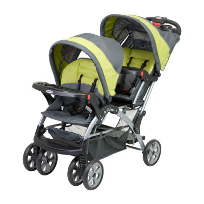 Baby Trend Sit N' Stand® Double Stroller - Carbon