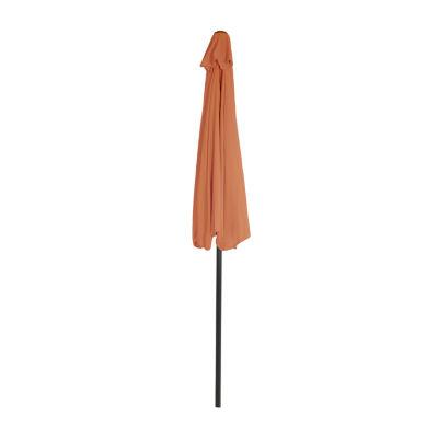 Pure Garden Half Round Patio Umbrella