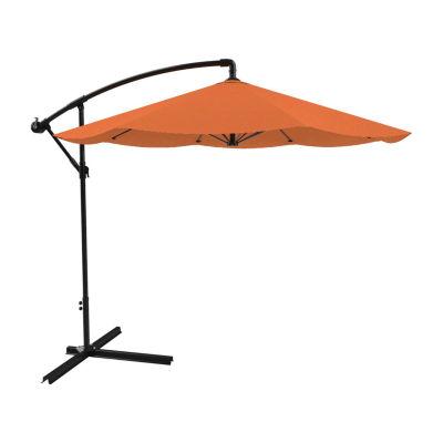 Pure Garden Hanging Cantilever Patio Umbrella