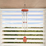 "Pure Garden 28"" Metal and Wood Wind Chime"