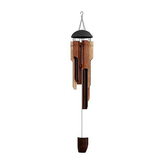 """Pure Garden 38"""" Bamboo Wind Chime"""