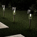 "Pure Garden 12.2"" Set of 12 Solar Pathway Lights"