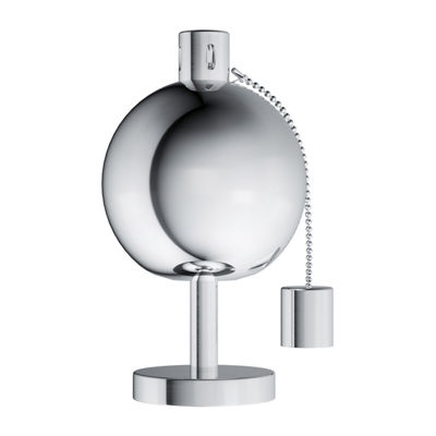 "Pure Garden 10"" Stainless Steel Tabletop Torch Lamp"