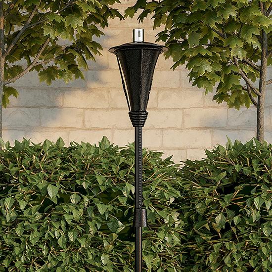"""Pure Garden 45"""" Metal Outdoor Fuel Torch Lamp"""