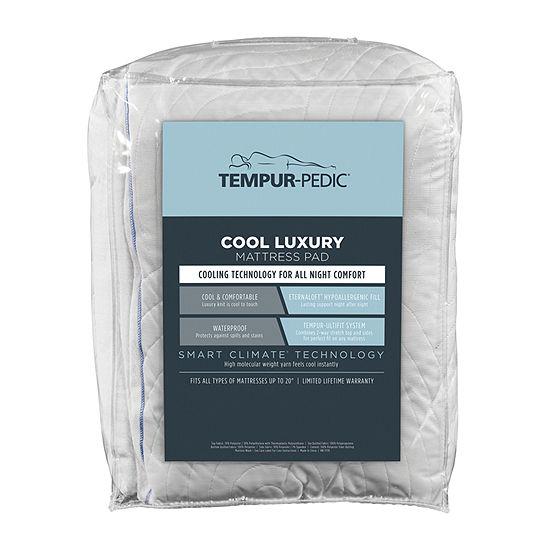 Tempur-Pedic Cool Luxury Waterproof Deep Pocket Mattress Pad