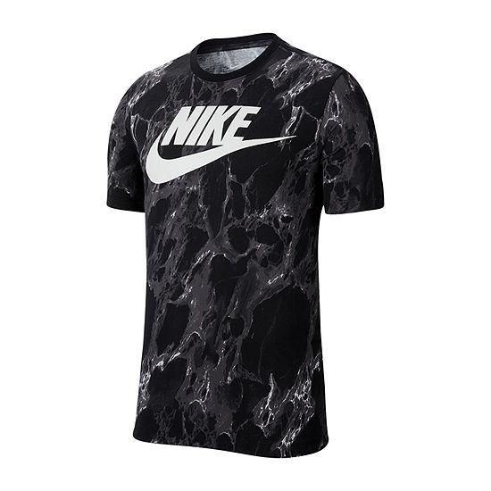 Nike-Big and Tall Mens Crew Neck Short Sleeve Dri-Fit T-Shirt