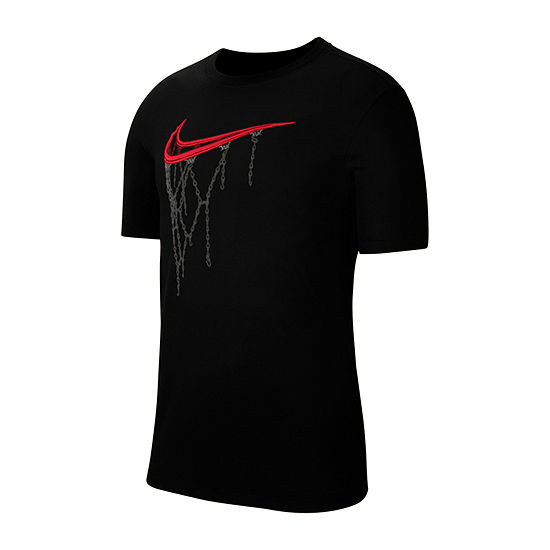 Nike Mens Crew Neck Short Sleeve Dri-Fit T-Shirt-Big and Tall