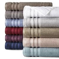 Liz Claiborne Luxury Egyptian Hygrocotton Loops Bath Towel Deals