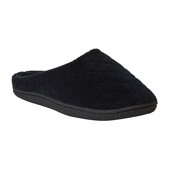 Dearfoams Leslie Womens Slip-On Slippers