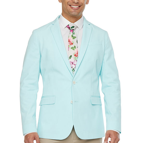 JF J.Ferrar Mens Stretch Slim Fit Sport Coat - Slim