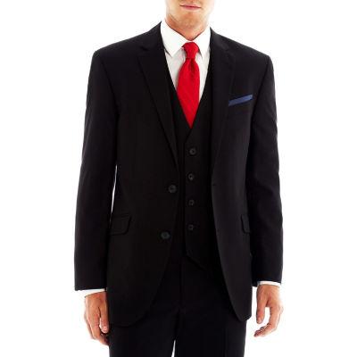Billy London UK® Black Stretch Suit Jacket Slim Fit