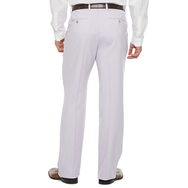 JF J.Ferrar Mens Slim Fit Suit Pants