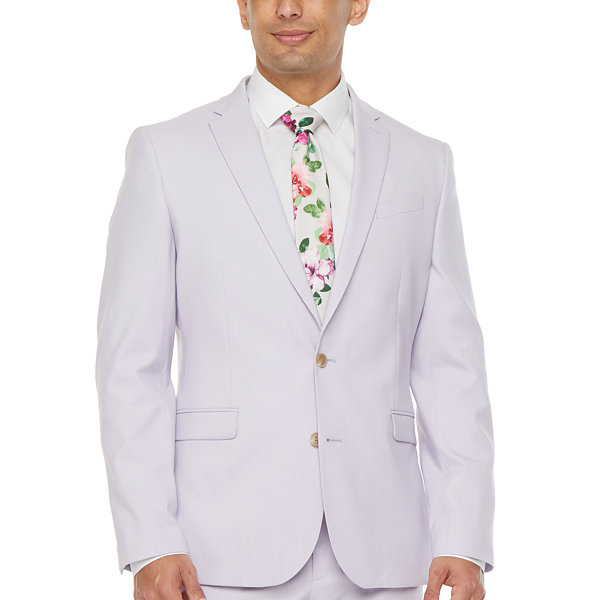 JF J.Ferrar Mens Slim Fit Suit Jacket-Slim