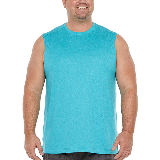 The Foundry Big & Tall Supply Co. Mens Crew Neck Sleeveless Muscle T-Shirt