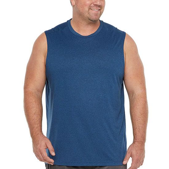 The Foundry Big & Tall Supply Co. Mens Crew Neck Sleeveless Muscle T-Shirt Big and Tall