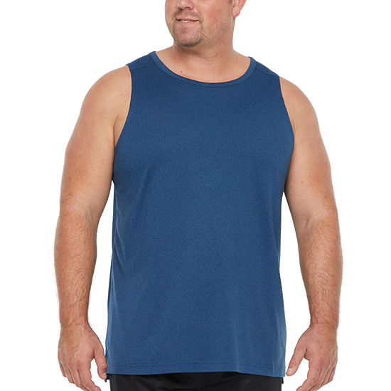 The Foundry Big & Tall Supply Co. Mens Crew Neck Sleeveless  Big and Tall Tank Top