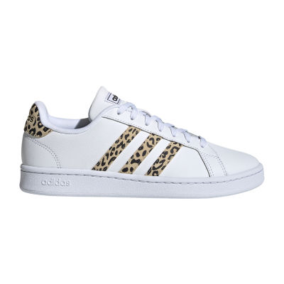 adidas Leopard Grand Court Womens Sneakers