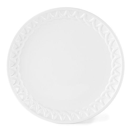 Liz Claiborne Round Serving Platter