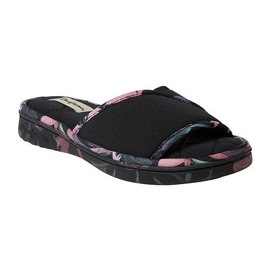 Dearfoams Angela Womens Slip-On Slippers