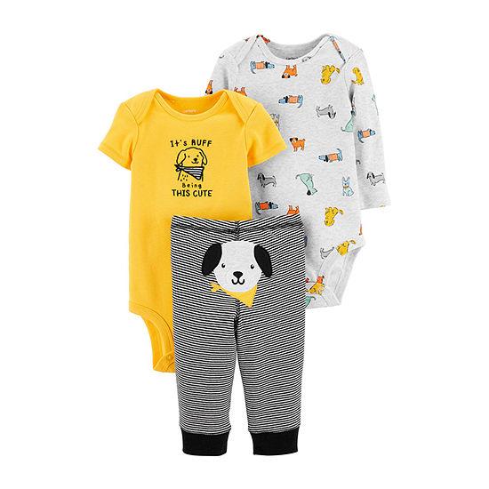 Carter's Boys 3-pc. Bodysuit Set-Baby