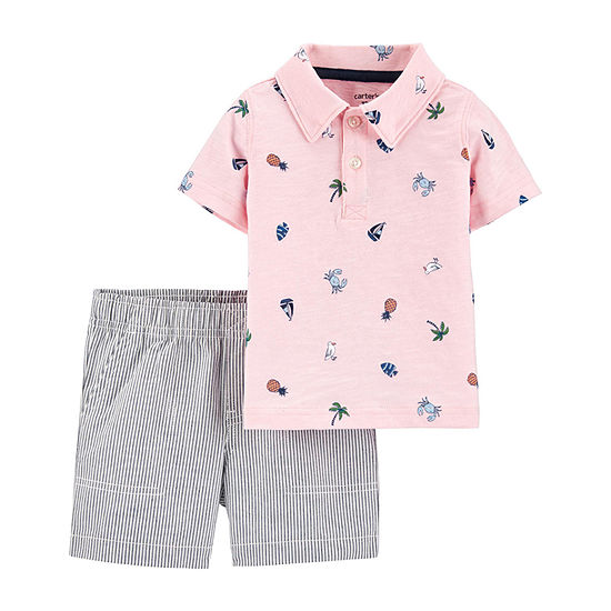 Carter's Baby Boys 2-pc. Short Set
