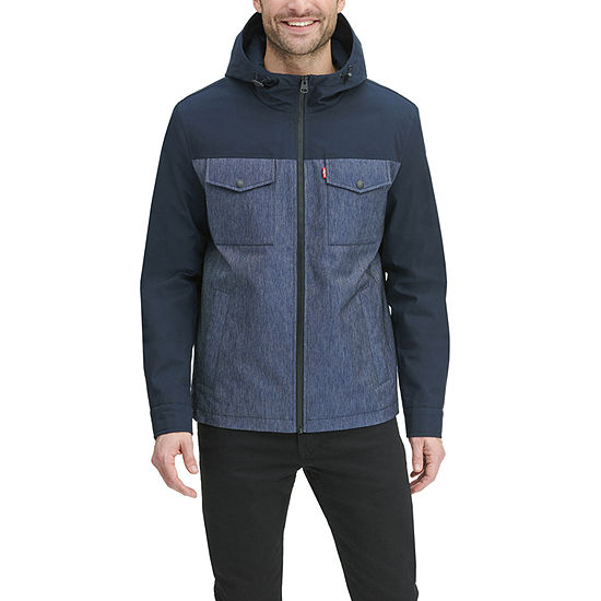 Levi's Hooded Midweight Raincoat