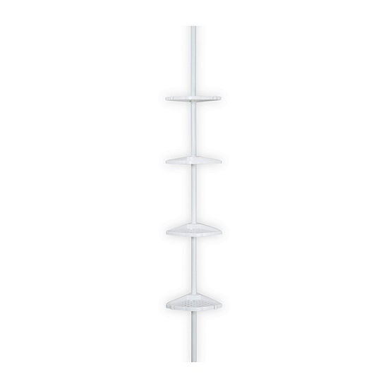 Better Living Ulti-Mate White Shower Pole Caddy White