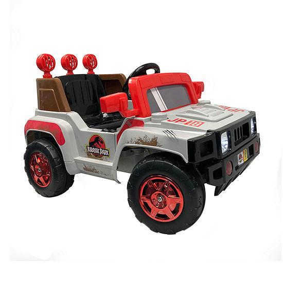 Best Ride On Cars Jurassic World 6v Suv