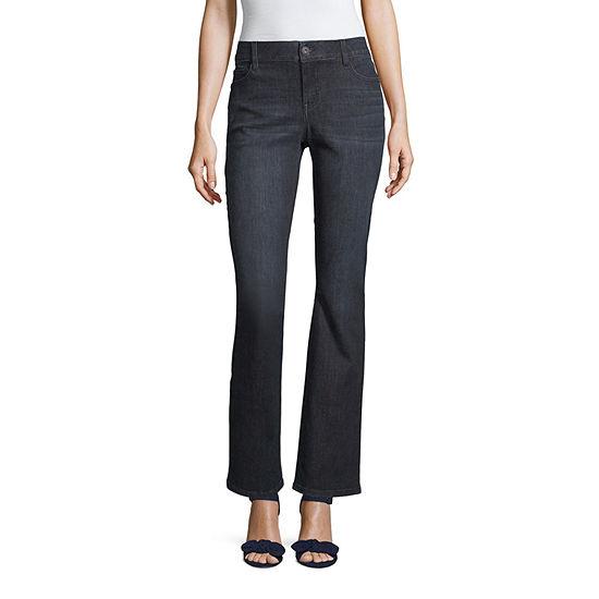 Liz Claiborne Flexi Fit Bootcut Jean - Tall