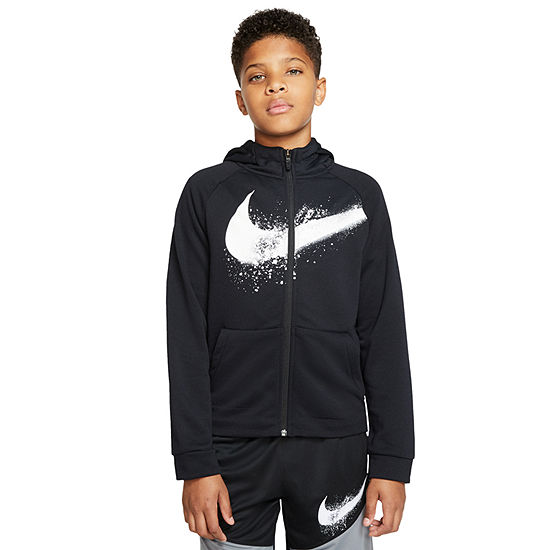 Nike Big Boys Moisture Wicking Hoodie
