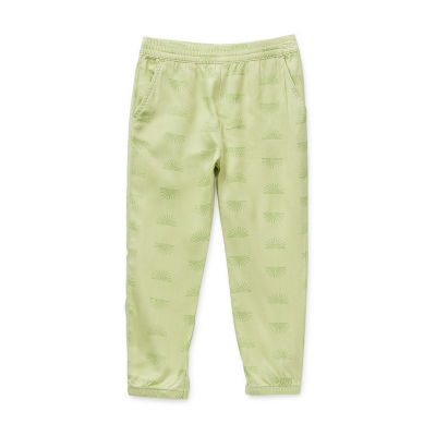 Okie Dokie Toddler Girls Cinched Jogger Pant