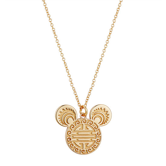 Disney Classics 16 Inch Link Mickey Mouse Pendant Necklace