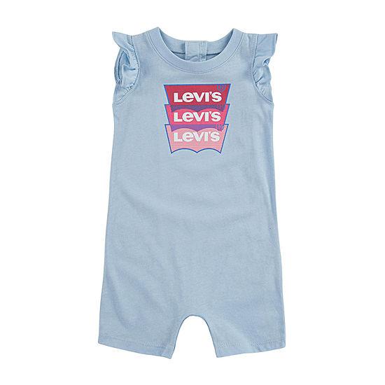 Levi's Baby Girls Sleeveless Romper