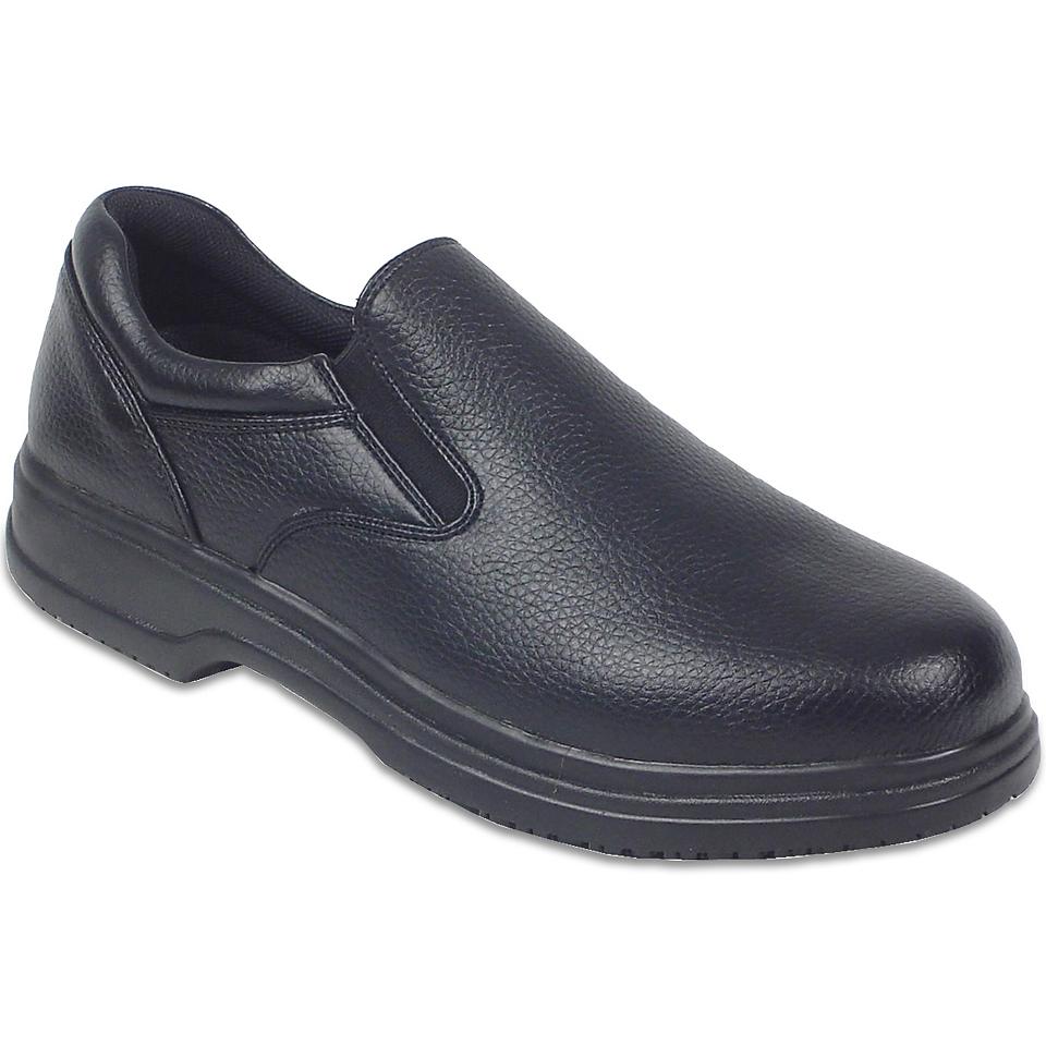 Deer Stags Manager Mens Slip On Shoes, Black