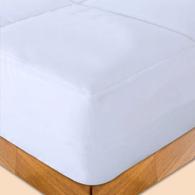 Stayclean Microfiber Water and Stain Resistant Mattress Pad