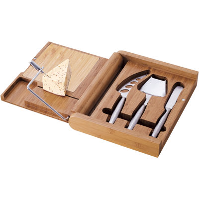 Picnic Time® Soiree Cheeseboard Wine and Tools Set