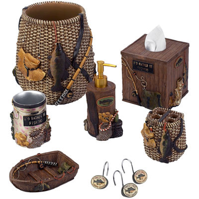Avanti Rather Be Fishing Bath Collection