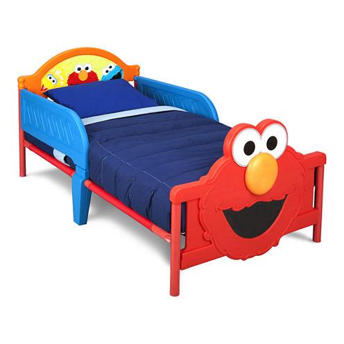 Delta Children's Products™ Sesame Street 3D Toddler Bed