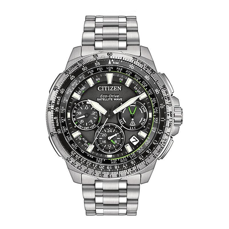 Citizen Eco-Drive Promaster Navihawk Mens World Time GPS Watch CC9030-51E