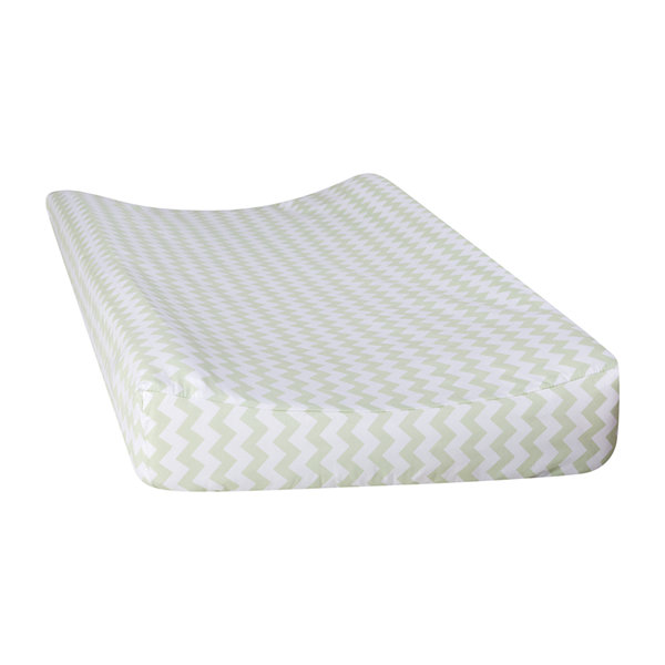 Trend Lab® Sea Foam Chevron Changing Pad Cover