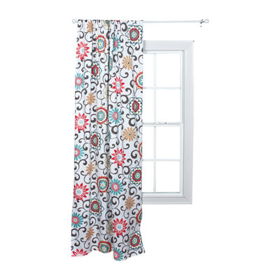 Waverly® Baby by Trend Lab® Pom Pom Play Floral Window Drape
